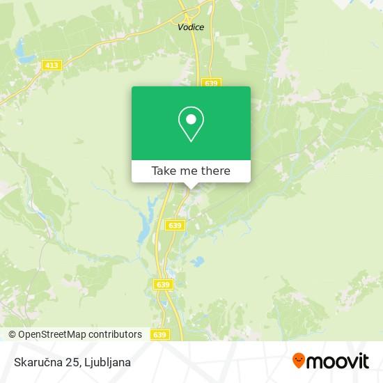 Skaručna 25 map