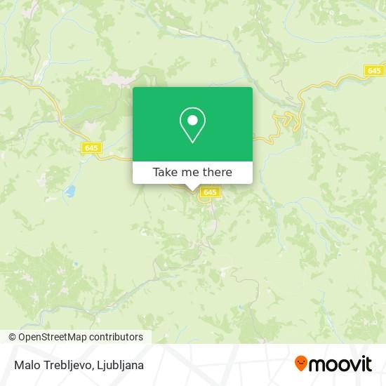 Malo Trebljevo map