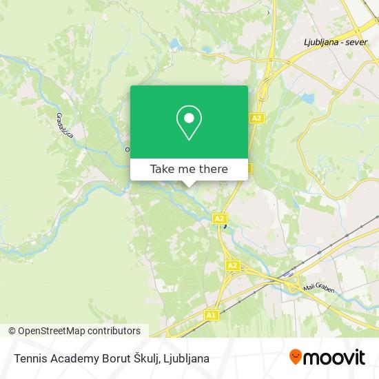 Tennis Academy Borut Škulj map