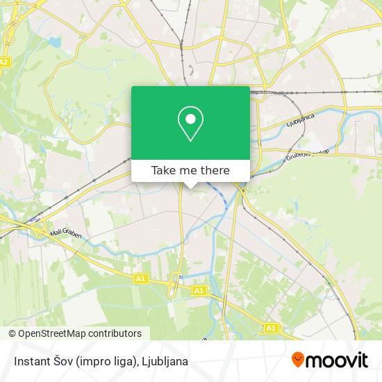 Instant Šov (impro liga) map