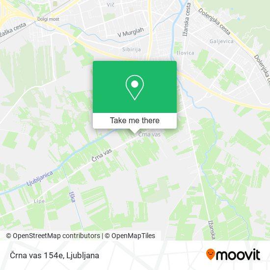 Črna vas 154e map