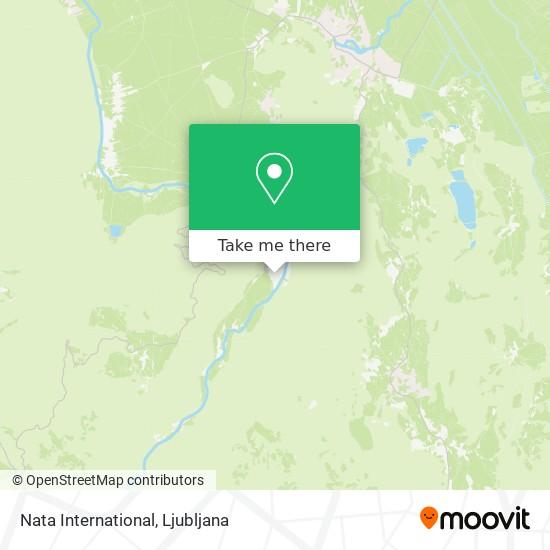 Nata International map