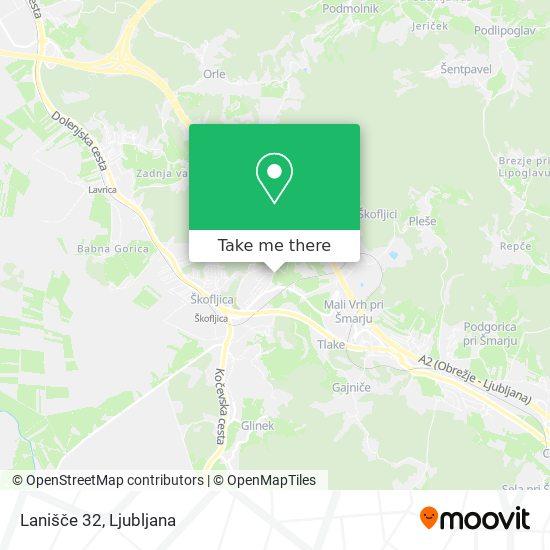 Lanišče 32 map