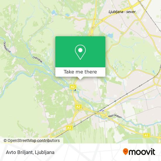 Avto Briljant map