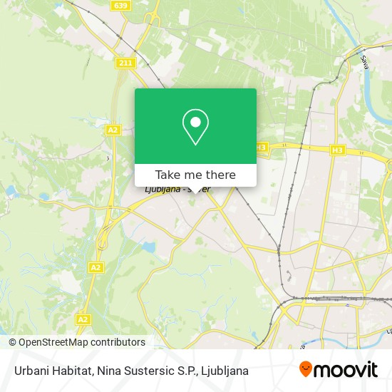 Urbani Habitat, Nina Sustersic S.P. map