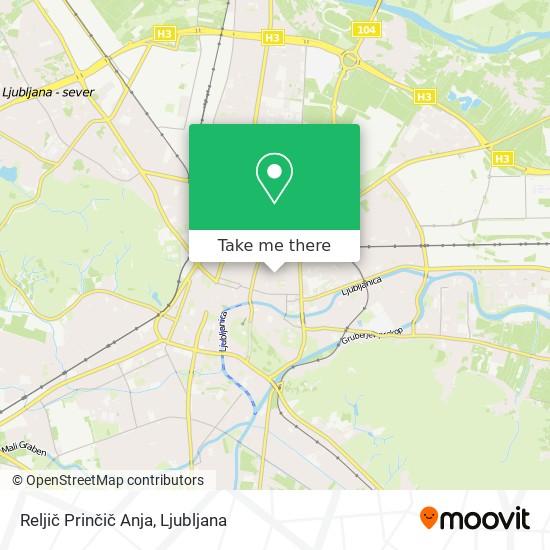 Reljič Prinčič Anja map