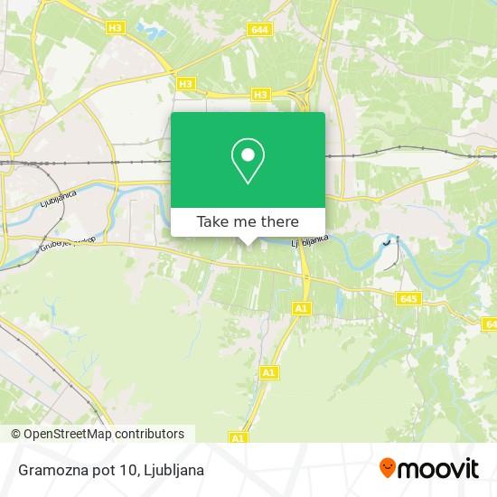 Gramozna pot 10 map