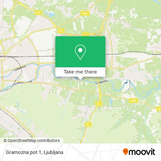 Gramozna pot 1 map