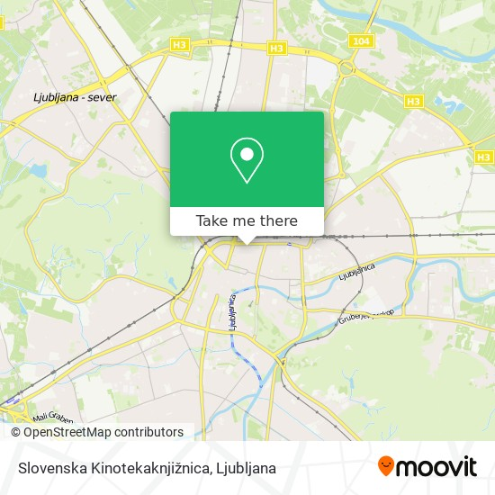 Slovenska Kinotekaknjižnica map