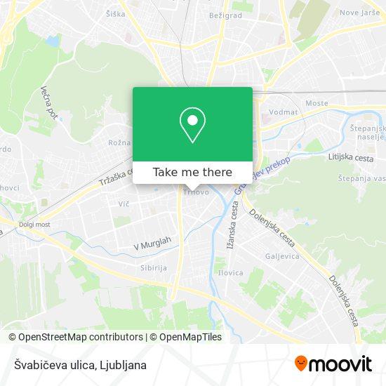 Švabičeva ulica map