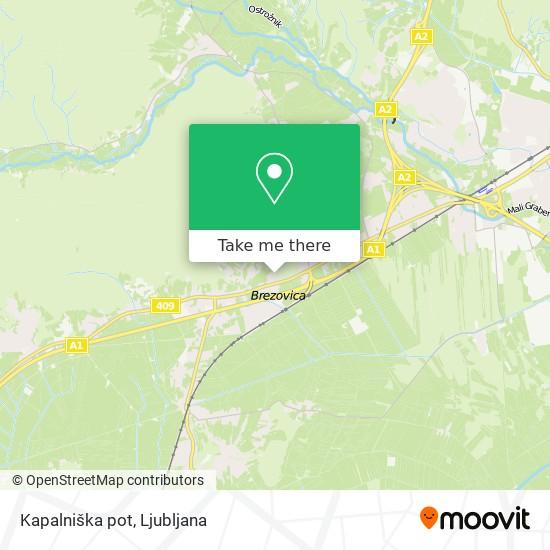 Kapalniška pot map