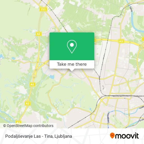 Podaljševanje Las - Tina map