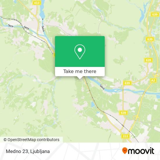 Medno 23 map