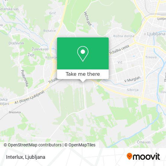 Interlux map