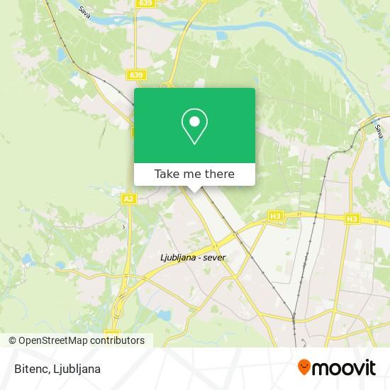 Bitenc map