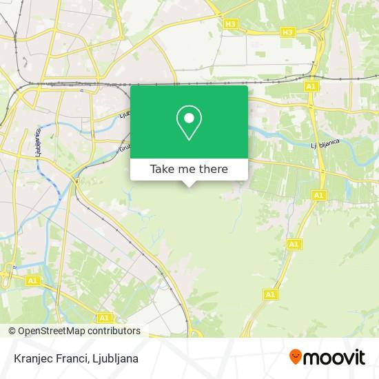 Kranjec Franci map