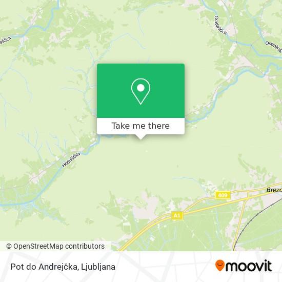 Pot do Andrejčka map