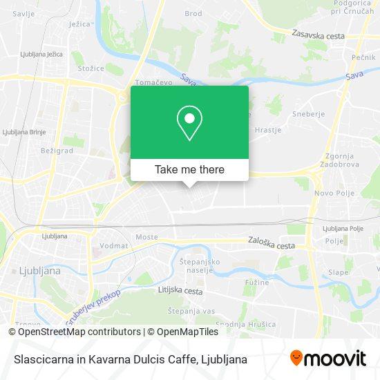 Slascicarna in Kavarna Dulcis Caffe map