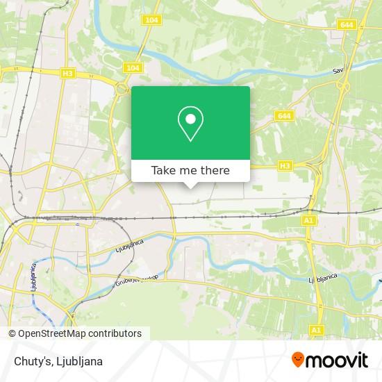 Chuty's map