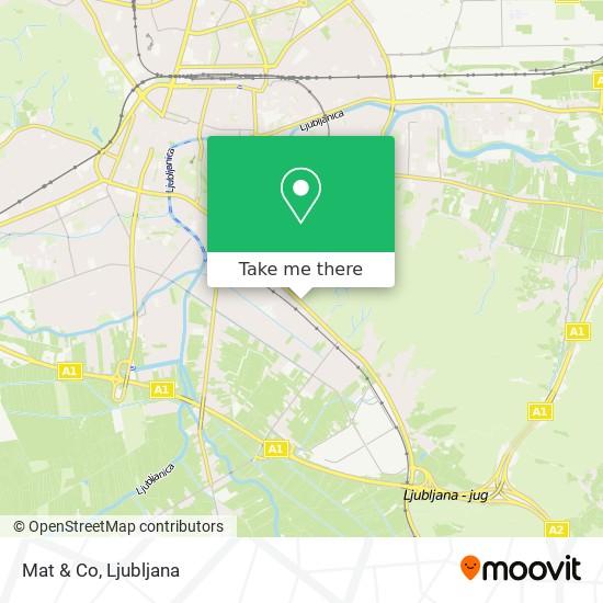 Mat & Co map