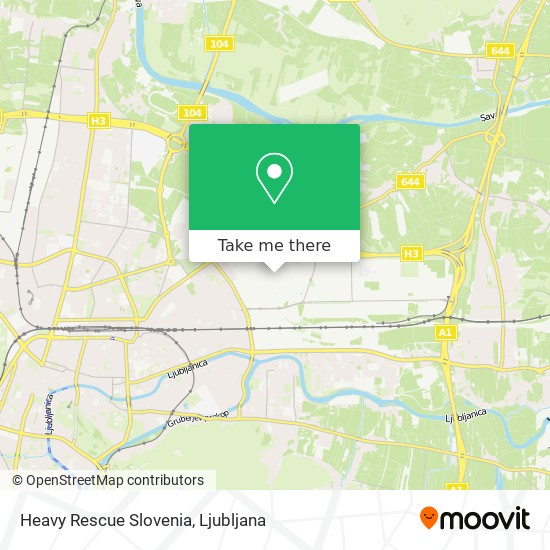Heavy Rescue Slovenia map