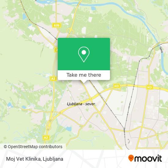 Moj Vet Klinika map
