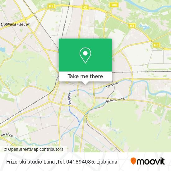 Frizerski studio Luna ,Tel: 041894085 map