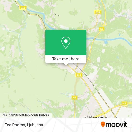 Tea Rooms map