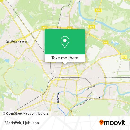 Marinček map