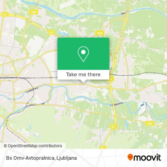 Bs Omv-Avtopralnica map