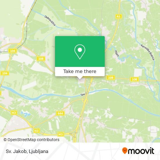 Sv. Jakob map