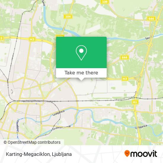 Karting-Megaciklon map