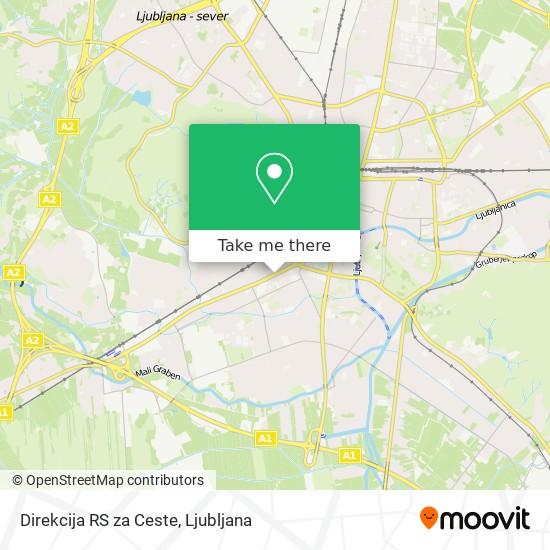 Direkcija RS za Ceste map