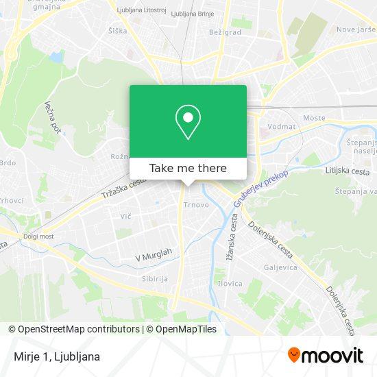 Mirje 1 map