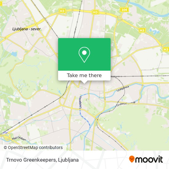 Trnovo Greenkeepers map