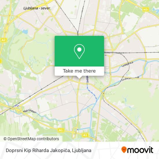 Doprsni Kip Riharda Jakopiča map