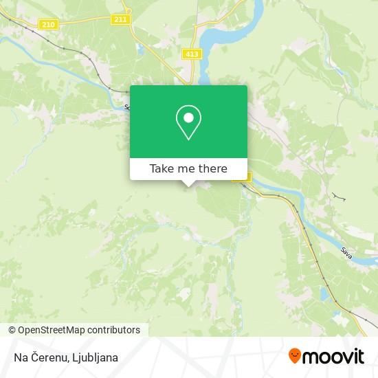 Na Čerenu map