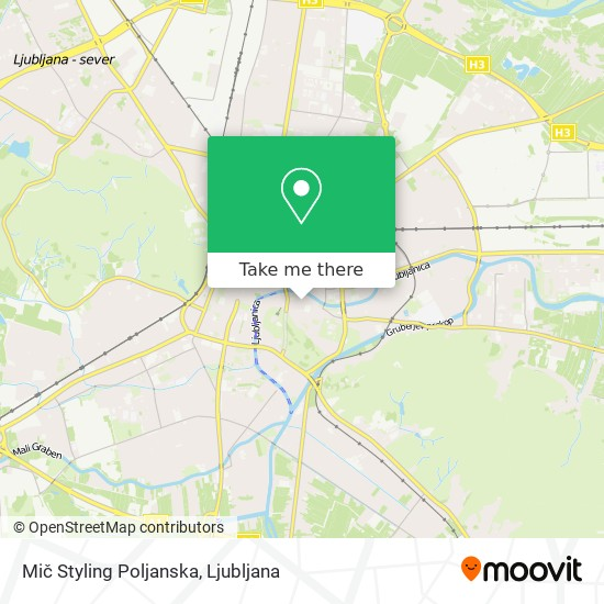 Mič Styling Poljanska map