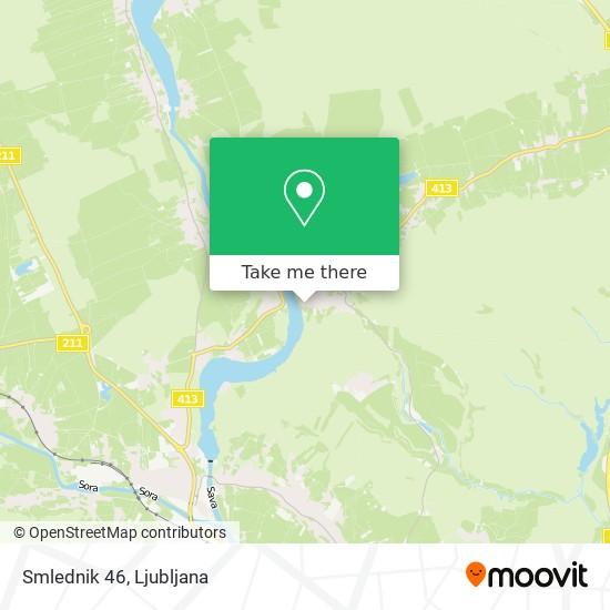 Smlednik 46 map