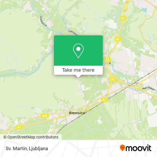 Sv. Martin map