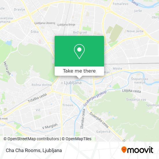 Cha Cha Rooms map
