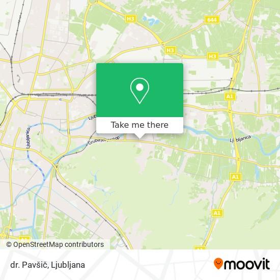 dr. Pavšič map