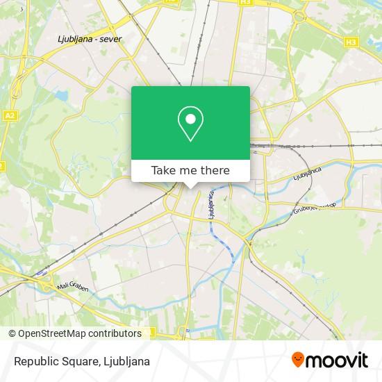 Republic Square map