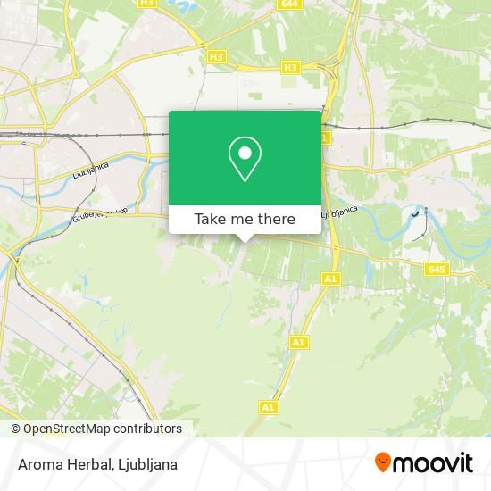 Aroma Herbal map