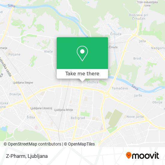 Z-Pharm map