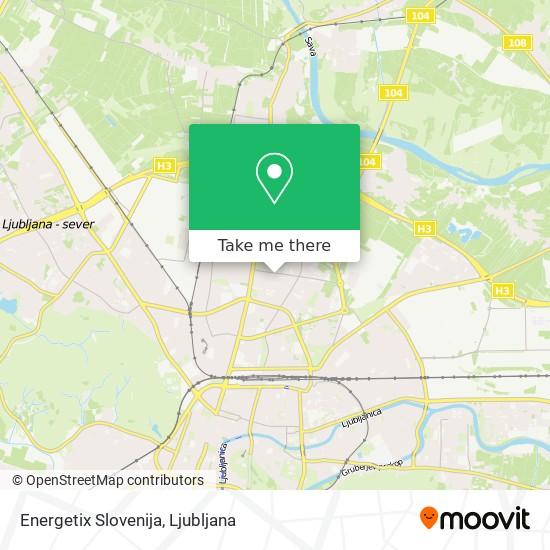 Energetix Slovenija map