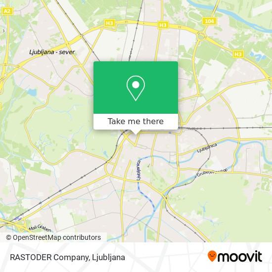 RASTODER Company map