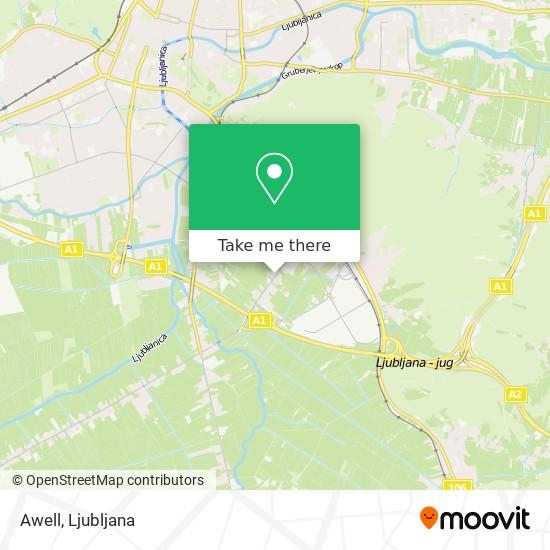 Awell map