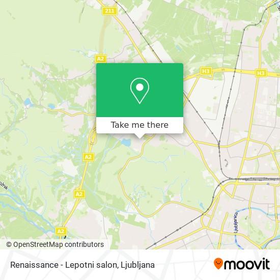 Renaissance - Lepotni salon map