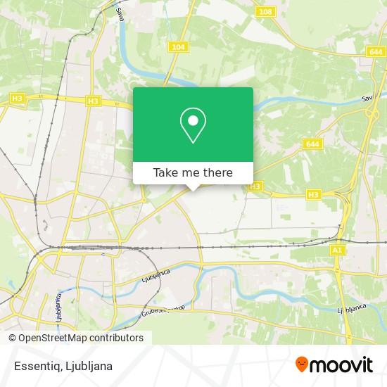 Essentiq map